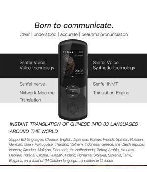 FLYTEK Easy Trans 2.0 Translator 59 Languages AI Translator 13Mp Camera