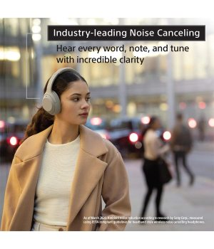 WH-1000XM4 high-resolution head-mounted wireless noise canceling stereo headset black The newly upgraded HD noise reduction processor QN1, adjustable digital noise reduction, intelligent pick-free dialogue, about 30 hours of long-lasting battery life