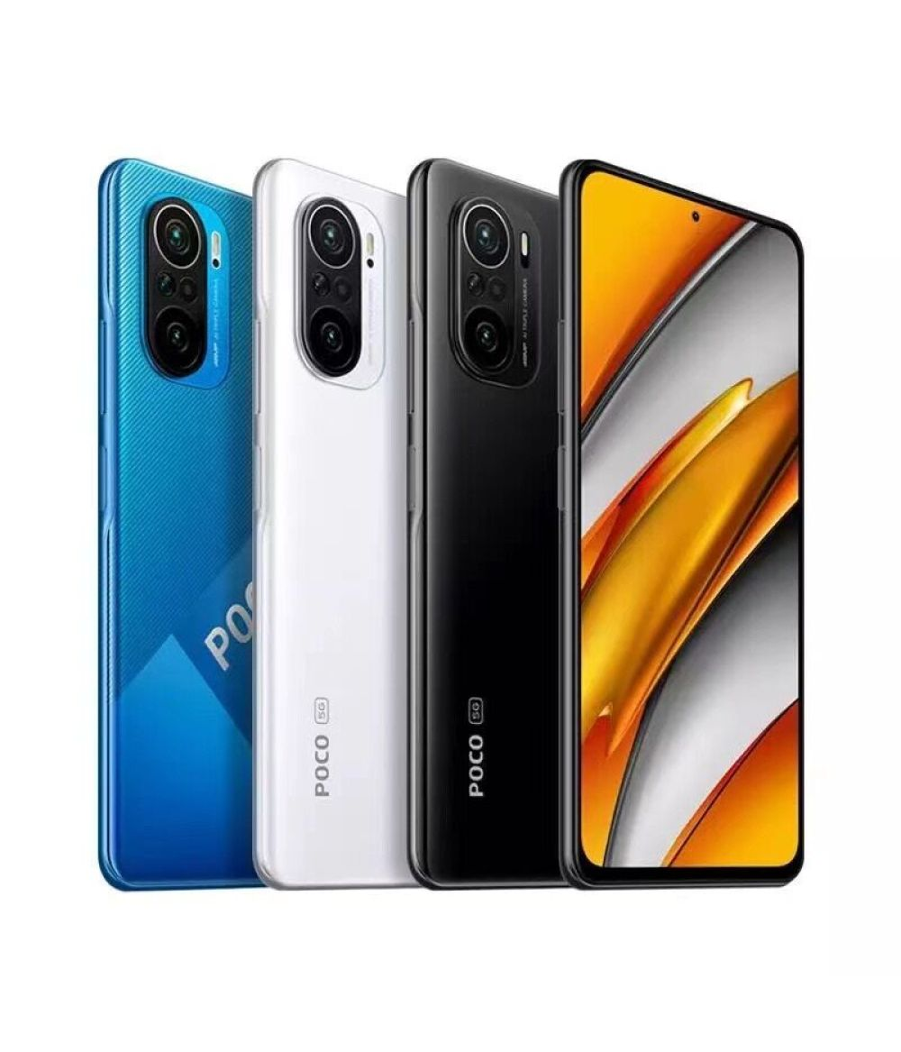 "POCO F3 GLOBAL Mobile Phone Snapdragon 870 Octa Core 6.67""120Hz E4 AMOLED Display 48MP 33W"