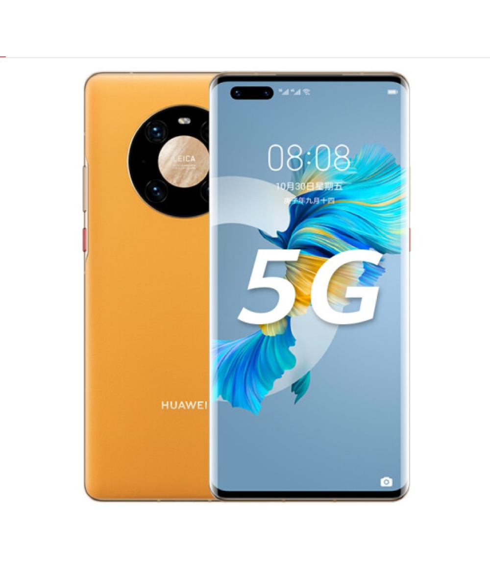 HUAWEI Mate 40 Pro + 5G MobilePhone 6.76 inch 12GB+256GB 90Hz OLED Kirin 9000 Octa Core Fast charging 66W 5nm crafts EMUI 11 Reverse Charge Wi-Fi 6+ NFC (ceramic black)