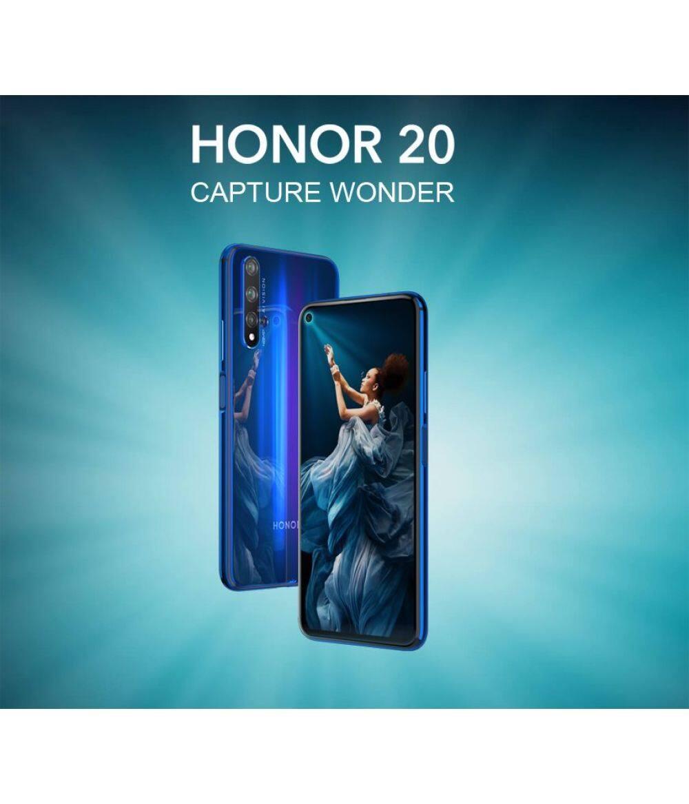 2019 New Arrival Original HONOR 20 Pro 6.26'' 8GB 128GB Kirin 980 Octa Core 4000mAh 32MP Camera Android 9.0 Support NFC Google play GPU Turbo3.0