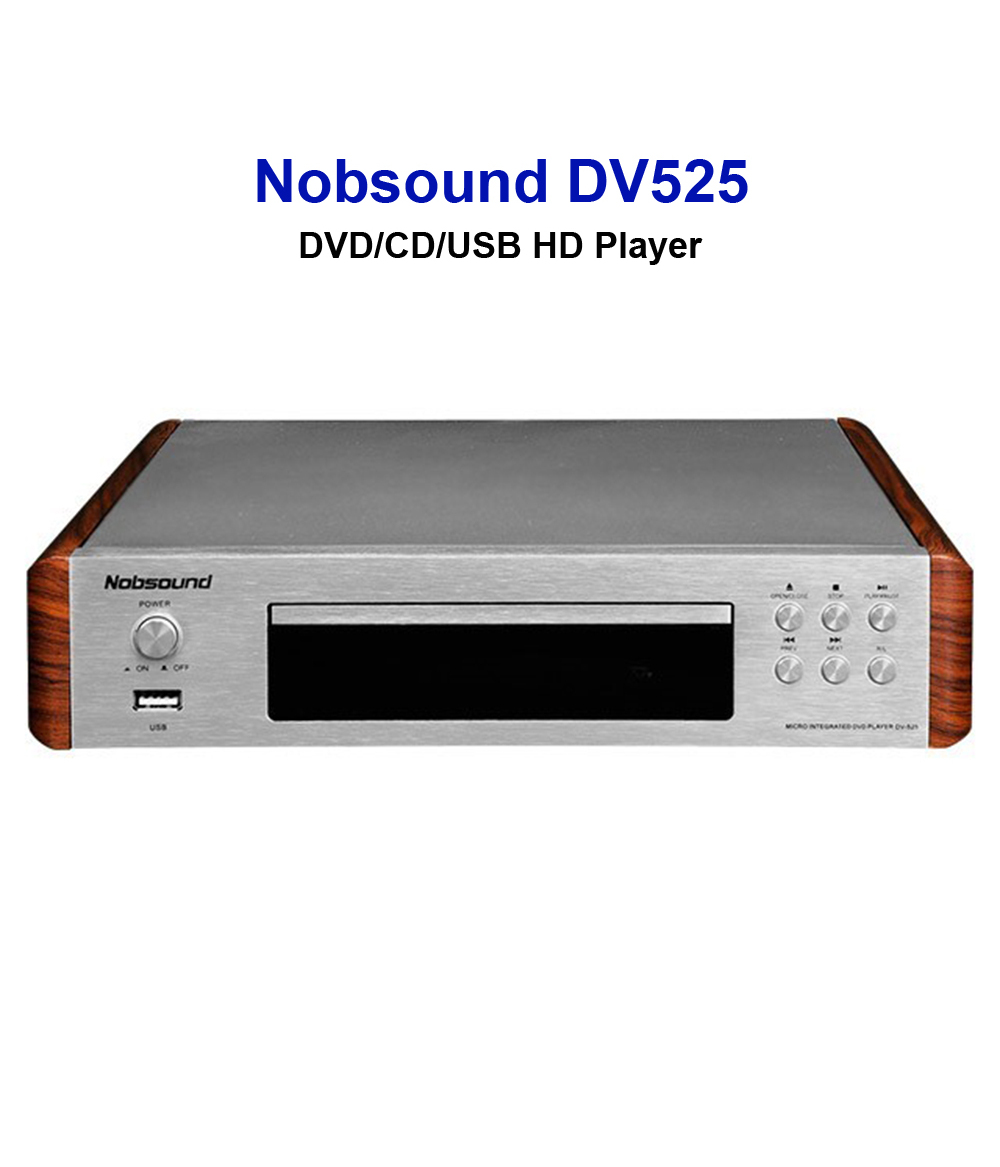 DV525 DVD player DVD Mini EVD VCD DVD CD player, Video Player karaoke USB interface HD playback Coaxial/Optics/RCA/HDMI/S-Video Outlets