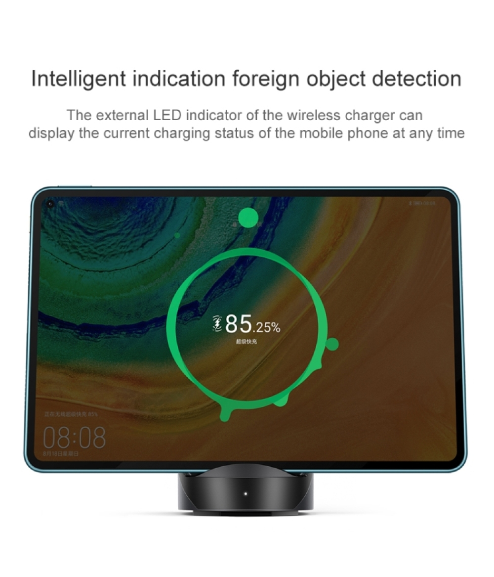 Original HUAWEI SuperCharge Wireless Charger Stand MAX 40W CP62 Supercharge for P40 Pro Mate 30 Pro Mate 20 Pro Matepad Pro For iphone 11/X S20