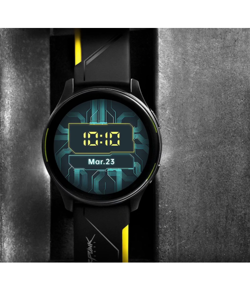 Official OnePlus smart watch  Cyberpunk Edition LIMITED EDITION forAndroid Bluetooth Wirstwatch 1.39inch AMOLED Warp Charge IP68 Waterproof