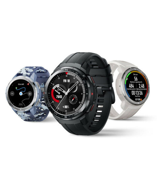 Huawei HONOR Watch GS Pro Smart Watch 25-day battery life 103 sports modes 14 military regulations Smart voice Bluetooth call 50-meter water resistance Heart rate sleep blood oxygen GPS