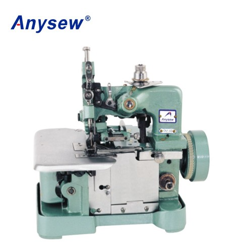 GN1-1D 1needle 3 thread  Mini overlock stitch sewing machine with motor