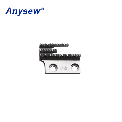 Anysew Sewing Machine Parts Feed Dog 12481