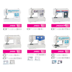 JH680 Domestic mini sewing machine household