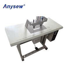 Ultrasonic fabric welding machine spot machinery double head