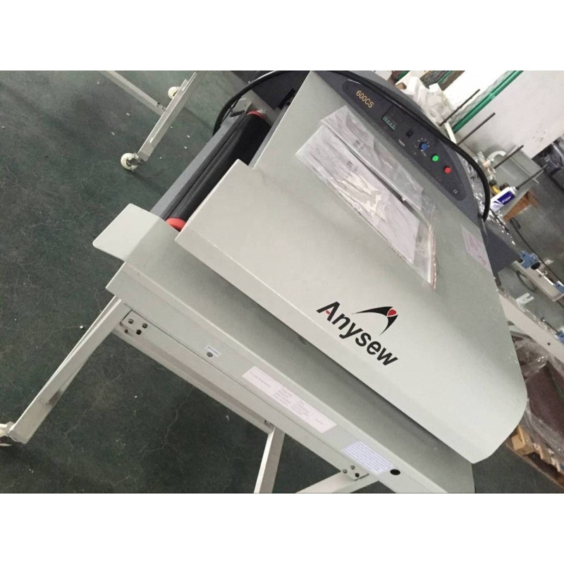 AS-600LF/LFS series Straight linear pneumatic garment fabric Fusing press machine