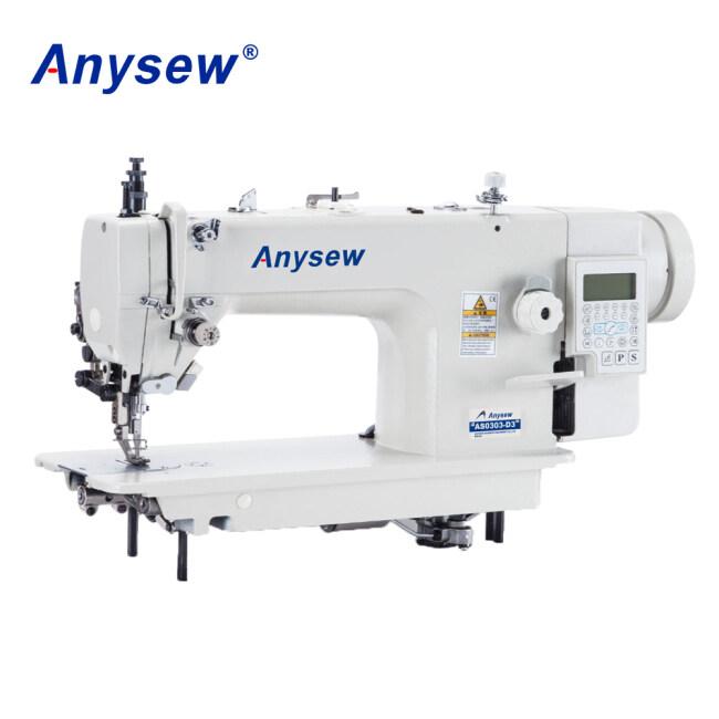 AS0303DDI-4 Direct drive computerized single needle bottom feed walking foot heavy duty lockstitch sewing machine