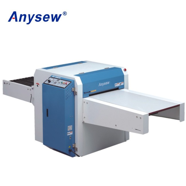 AS-600LF/LFS series Straight linear pneumatic garment fabric Fusing press machine