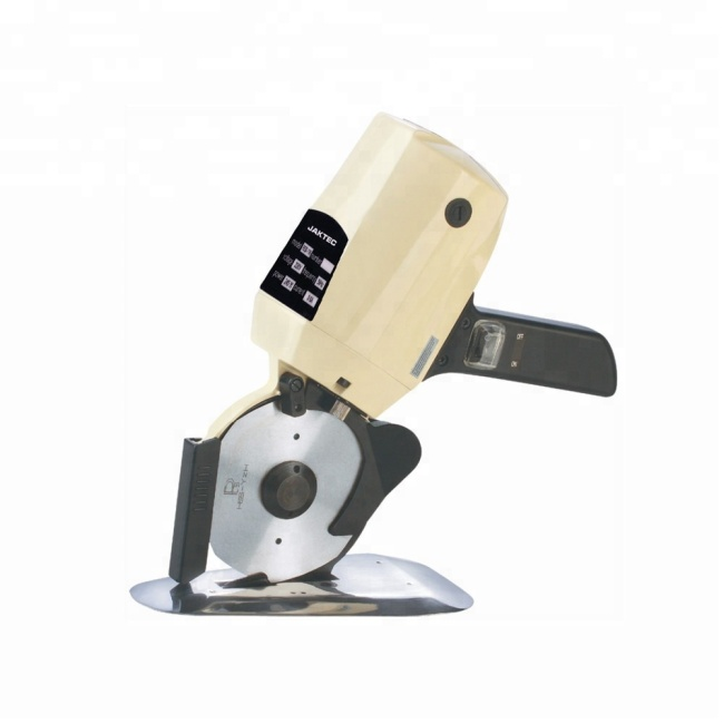 RSD-100 Fabric round knife blade cutting machine for cloth mini cutting