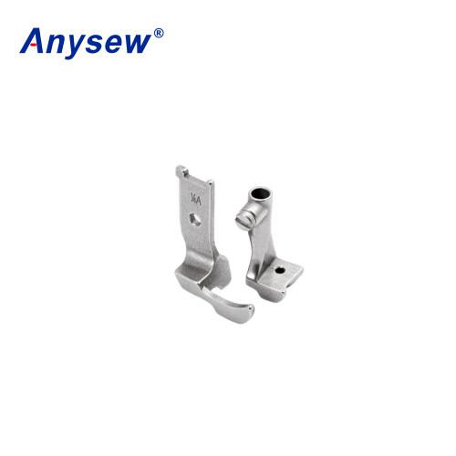 Anysew Sewing Machine Parts Presser Foot 10795K+10796K