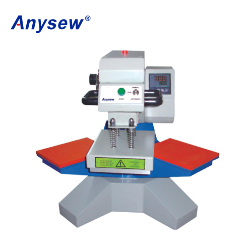 AS-G1520 Double Station Pneumatic Heat Transfer Machine Printing Machine