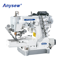 AS664DD-01CB/UT Auto Cylinder Bed Lock Sewing Machine T-shirt Sewing Machine Interlock Sewing Machine