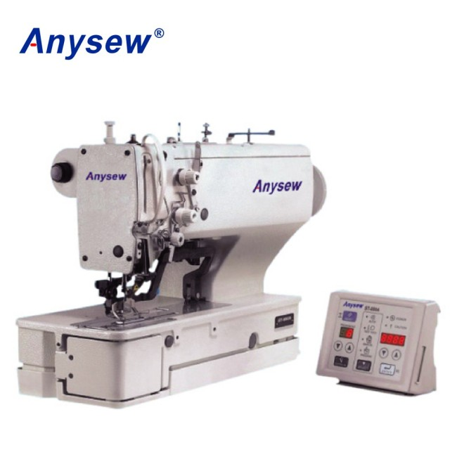 AS880A-02 Straight electrical button holing machine