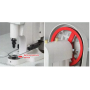 PA818 electric snap button attaching machine for popper lock punch