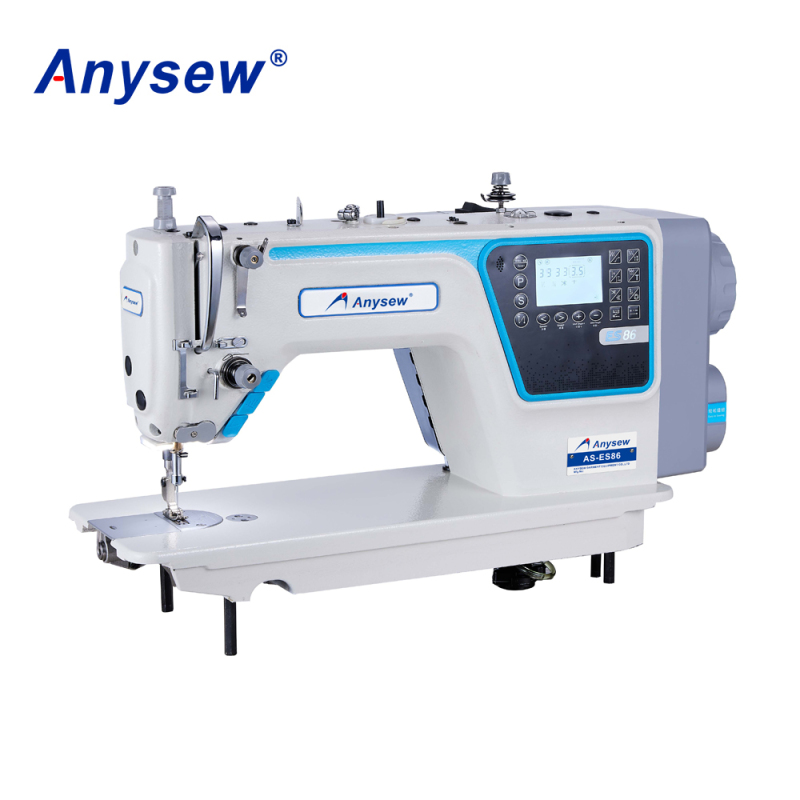 AS-ES86 automatic t shirt sewing machine industrial single step computerized lock stitch sewing machine