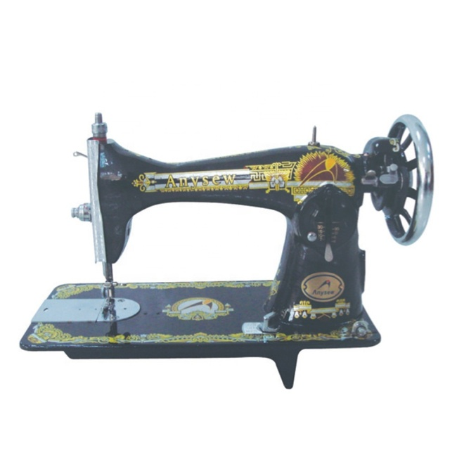 JA2-2 HOUSEHOLDING SEWING MACHINE WITH BELT OLD TYPE HOUSE HOLD LOCKSTITCH