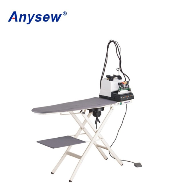 AS-2007M Turbo vacuum and heated folding ironing table
