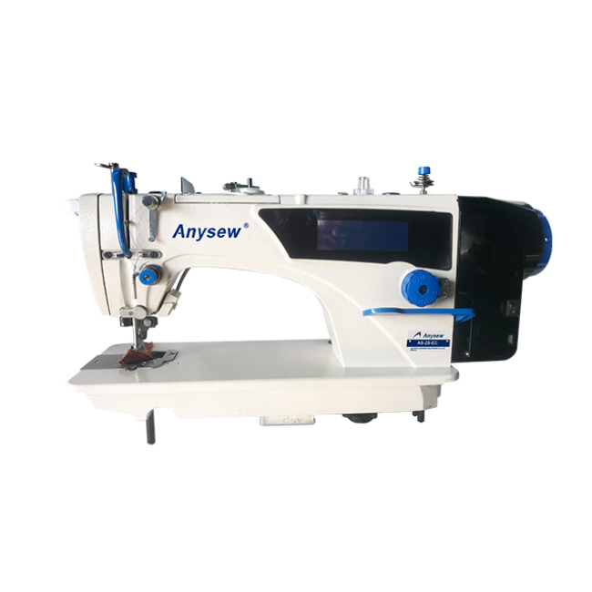 AS-Z8-EC full automatic touch screen computerized  lockstitch sewing machine with side cutter