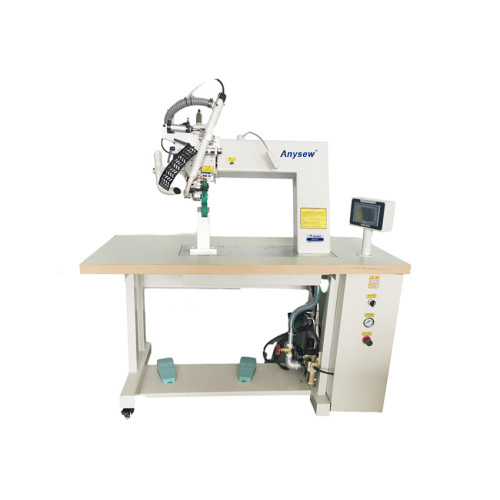 AS-924T Hot Air Seam Sealing Tape Machine for protection gown