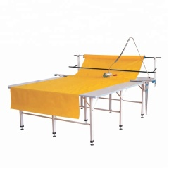 PADB-1 with ubtelligent counting device Manual Roll Cloth End Cutter With 2.4m tracker rail