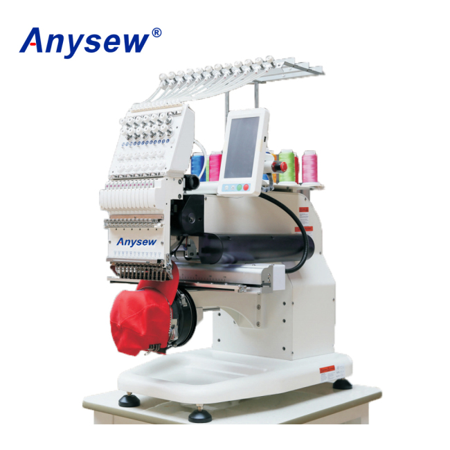 AS-1201S Single Head Cap Embroidery Machine Commercial Cap Machine