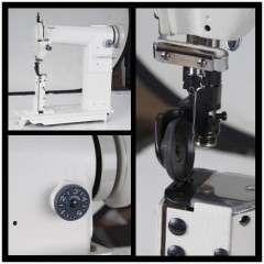 PA810 Round Body Post Bed Sewing Machine For Shoes Sewing Machine And Bag Sewing machine
