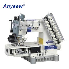 AS008-08064P/VPL Multi-Needle Double Chain Stitch Sewing Machine Sportswear Sewing Machine