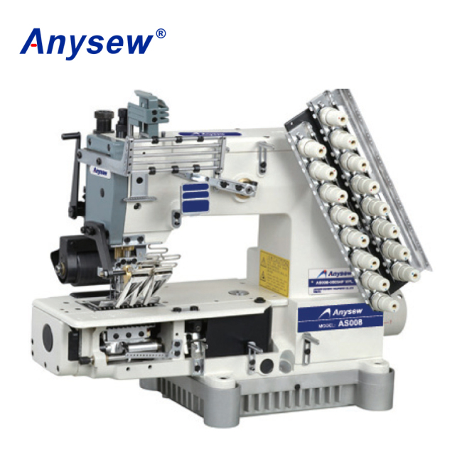 AS008-08064P/VPL Multi-Needle Double Chain Stitch Sewing Machine Sportswear Sewing Machine