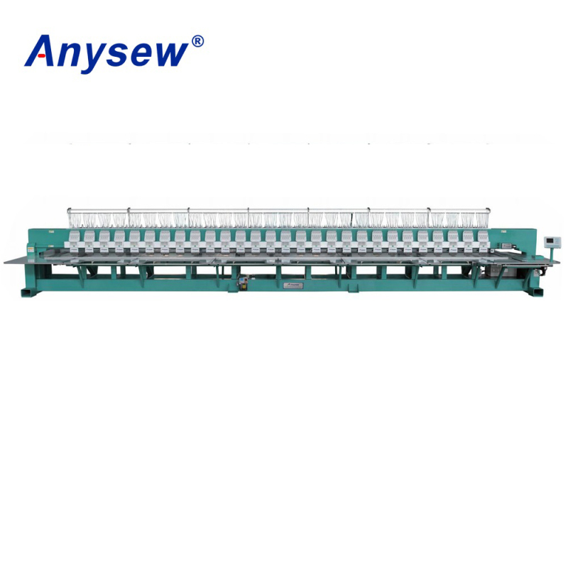 AS-F906 Computerized Flat Embroidery Machine Embroidery Sewing Machine
