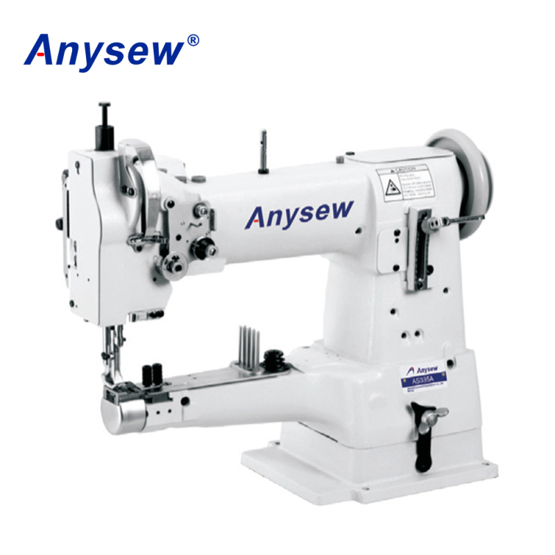 AS335A Industrial Cylinder Bed Leather Sewing Machine