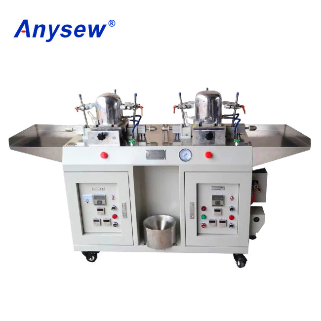 AS-IC02 Automatic Baseball Cap Ironing Machine Two Heads Cap Making Machine