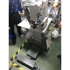 Freely change between lochstitch and chainstitch hemming industrial sewing machine