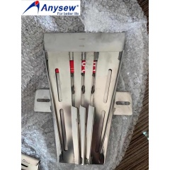 Anysew Sewing Machinery Parts Binder Folder for FaceMask single double lock stitch