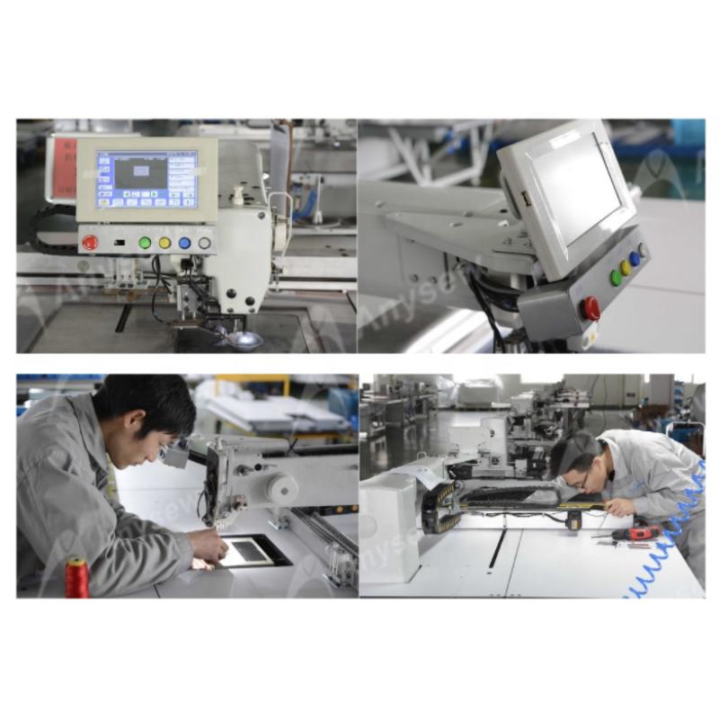 PA8200-12080  Oil-Free Fully pattern making sewing machine auto template sewing machine