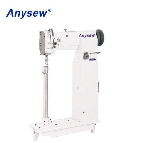 AS8365 super high post-bed single needle compound feed sewing machine
