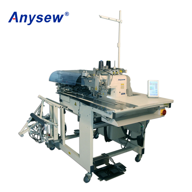 AS895 Anysew Brand Automatic Pocket Welting Machine Used For Factory
