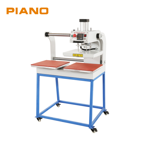 PA-OP38 Double Station Pneumatic Heat Transfer Machine for cloth