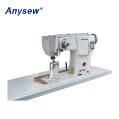 AS592D Direct Drive Post Bed Roller Sewing Machine Heavy Duty Shoe Sewing Machine
