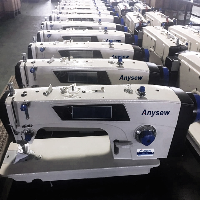 AS8-D5 Anysew Brand New Computerized Full Auto Sewing Machine With Direct Motor Lockstitch