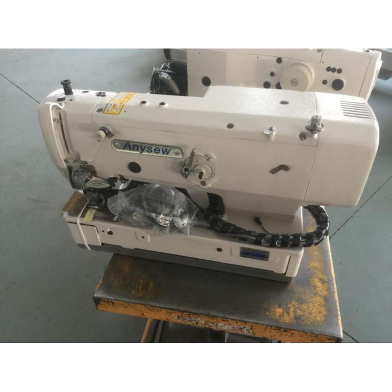 AS1790 Straight Button Sewing Machine Electrical Button Hole Machine