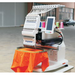 AS-1201S Single Head Cap Embroidery Machine Commercial Cap Machine