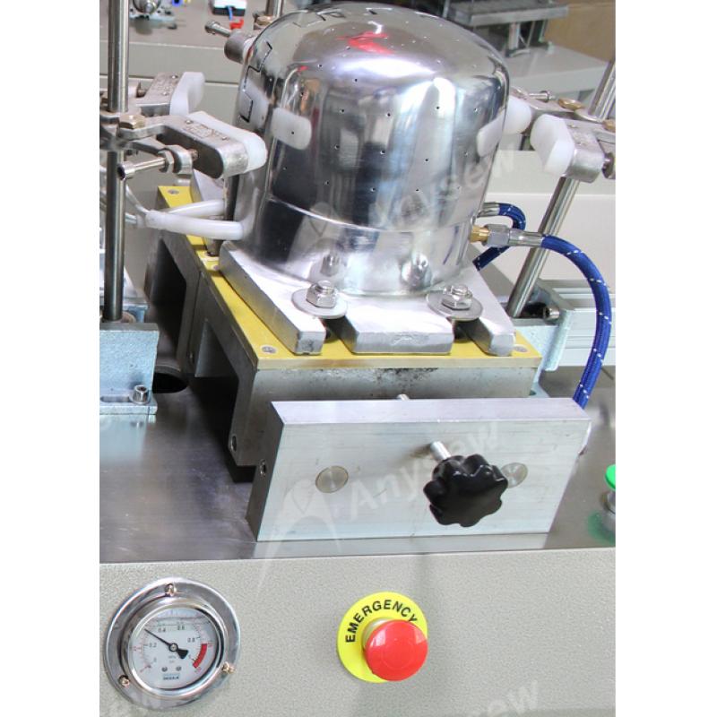 AS-IC02 Automatic Baseball Cap Ironing Machine Two Heads Cap Making Machine