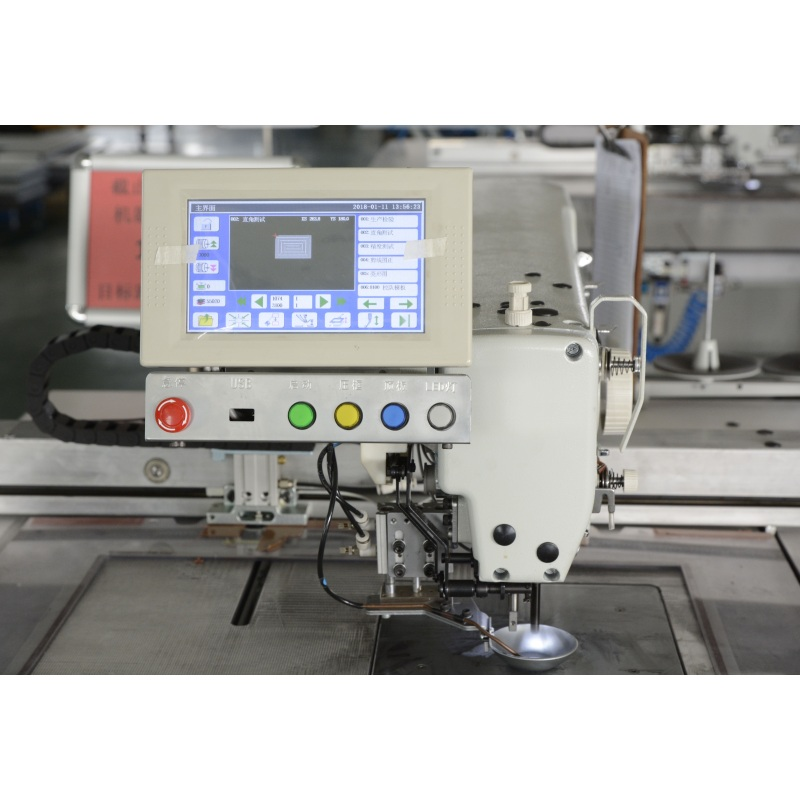 AS8200-12080 Anysew Brand Fully Automatic Oil-Free Pattern Template Sewing Machine With Screw Drive