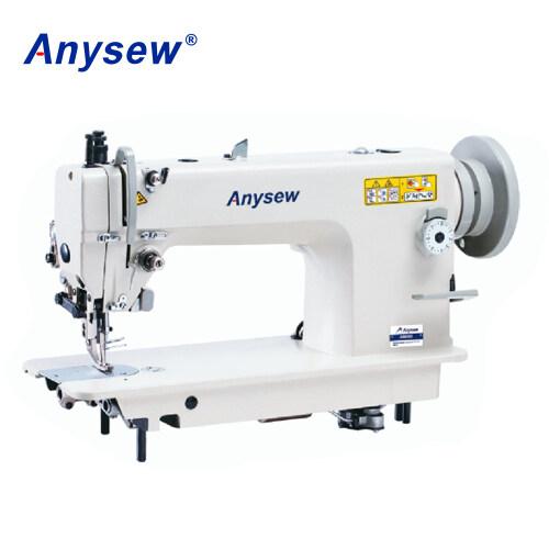 AS0303 Single needle bottom feed walking foot heavy duty lockstitch sewing machine