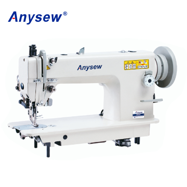 AS0303 Single needle bottom feed walking foot heavy duty lockstitch sewing machine