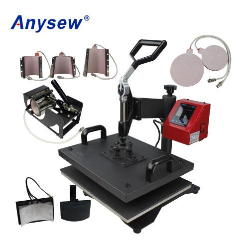 AS-8IN1 Multifunctional Heat Press Machine Heat Transfer Printing Machine For Cup Heating Machine